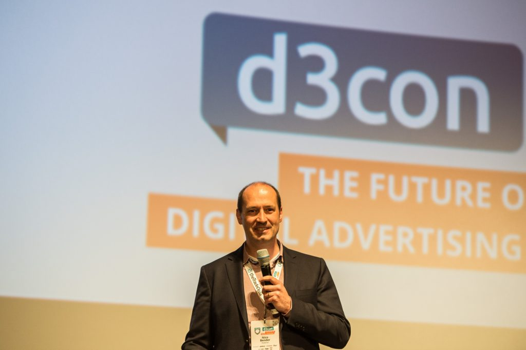Speaker bei der d3con, Niko Bender Account Based Marketing Agentur